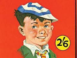 An illustration of a schoolboy